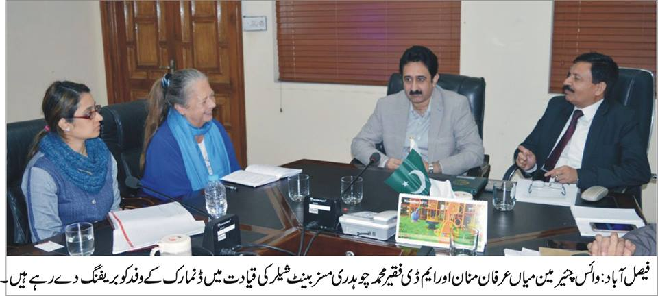 DENISH DELEGATIONS WASA VISIT